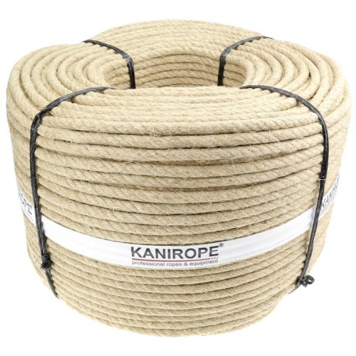Hanfseil HEMPTWIST ø5mm 3-litzig gedreht von Kanirope®