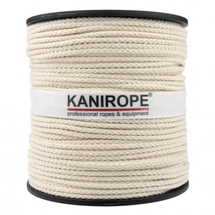 Baumwollseil COBRAID ø3mm 8-fach geflochten von Kanirope®