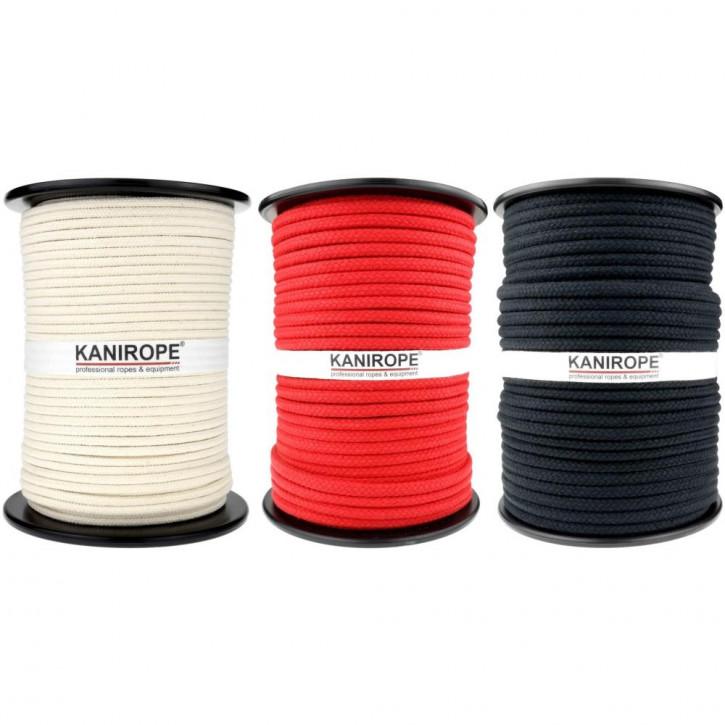 Baumwollseil COBRAID ø5mm 16-fach geflochten von Kanirope®