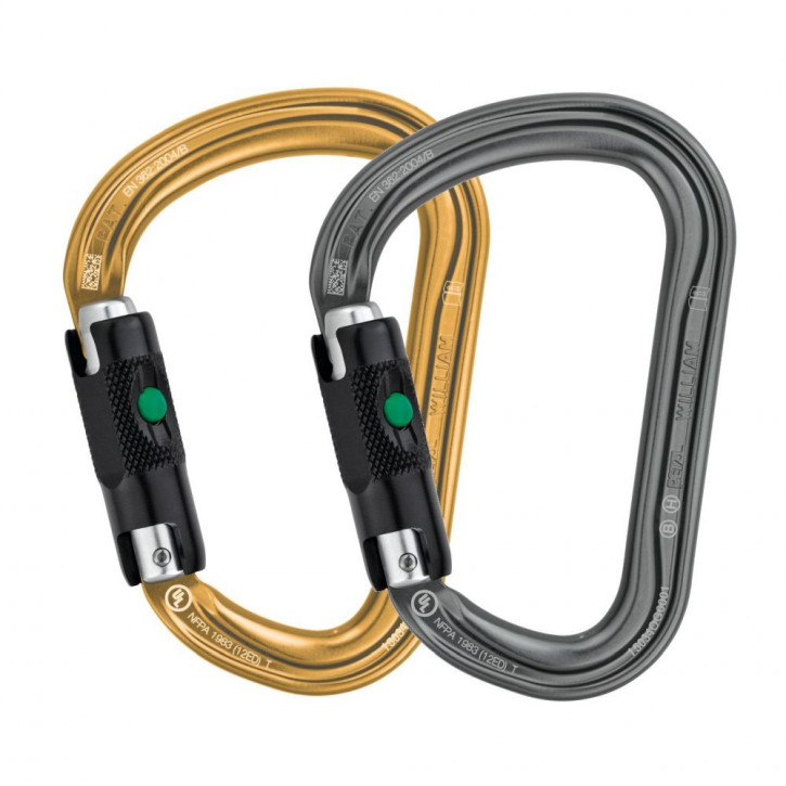 Karabiner WILLIAM HMS BALL-LOCK von Petzl®