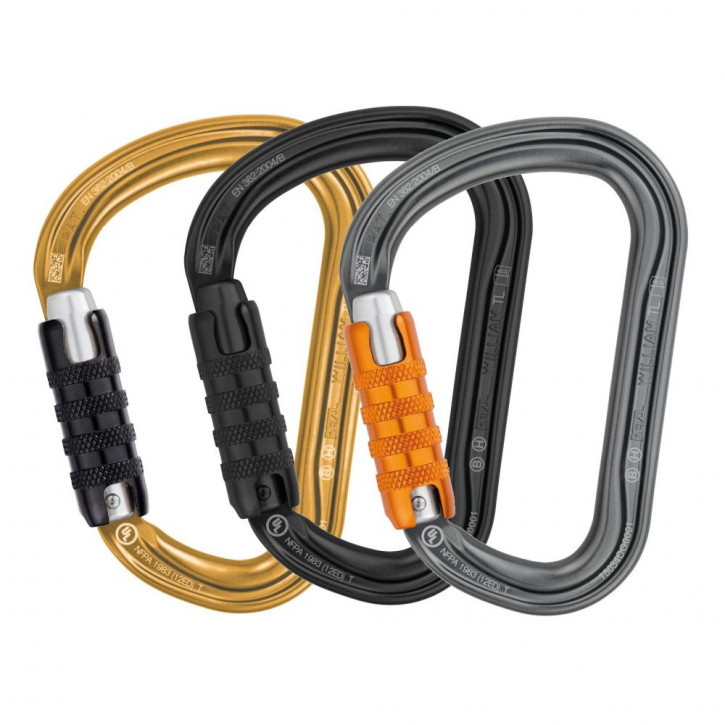 Karabiner WILLIAM HMS TRIACT-LOCK von Petzl®