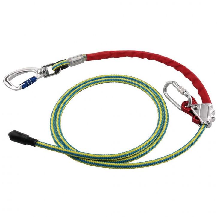 Halteseil mit Seilkürzer und Stahlkern PROT30 3m von Kanirope
