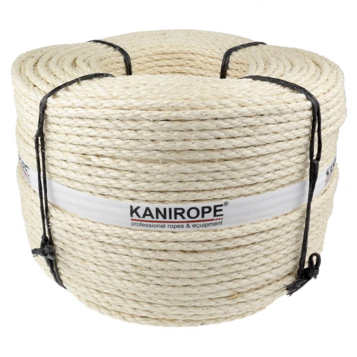 Sisalseil Kanirope AGAVE ø5mm 3-litzig gedreht