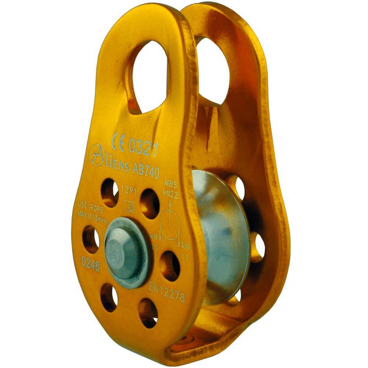 Rolle FIXED PULLEY ALM Farbe Gold von Aliens