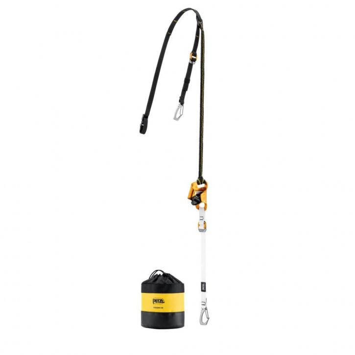 Kniesteigklemmen-System mit Karabiner KNEE ASCENT CLIP von Petzl®