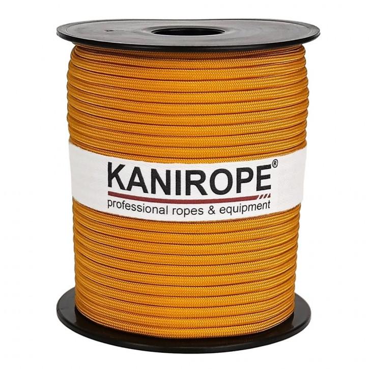 Paracord 550 XPRO ø3,8mm Gold geflochten von Kanirope®