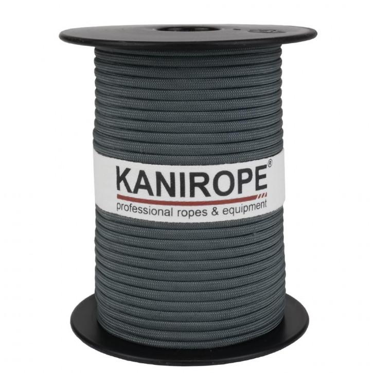 Paracord 550 XPRO ø3,8mm Grau geflochten von Kanirope®