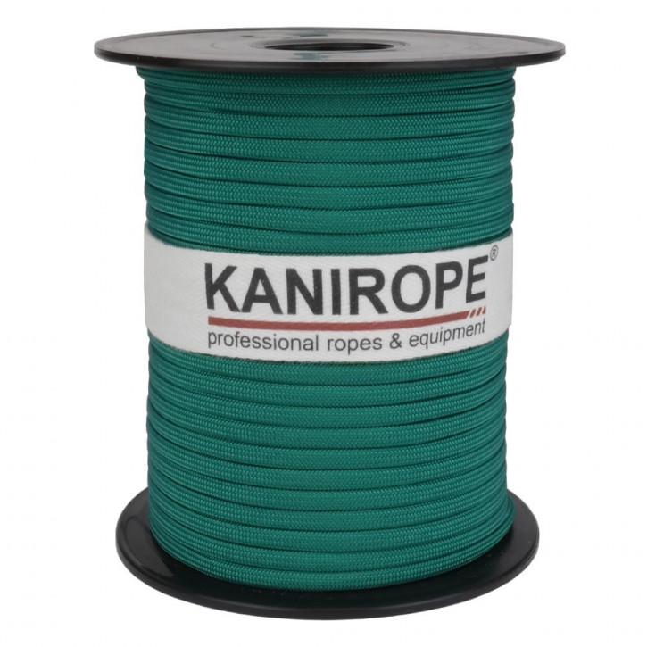 Paracord 550 XPRO ø3,8mm Grün geflochten von Kanirope®