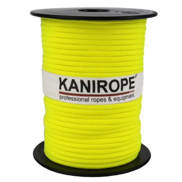 Paracord 550 XPRO ø3,8mm Neongelb geflochten von Kanirope®