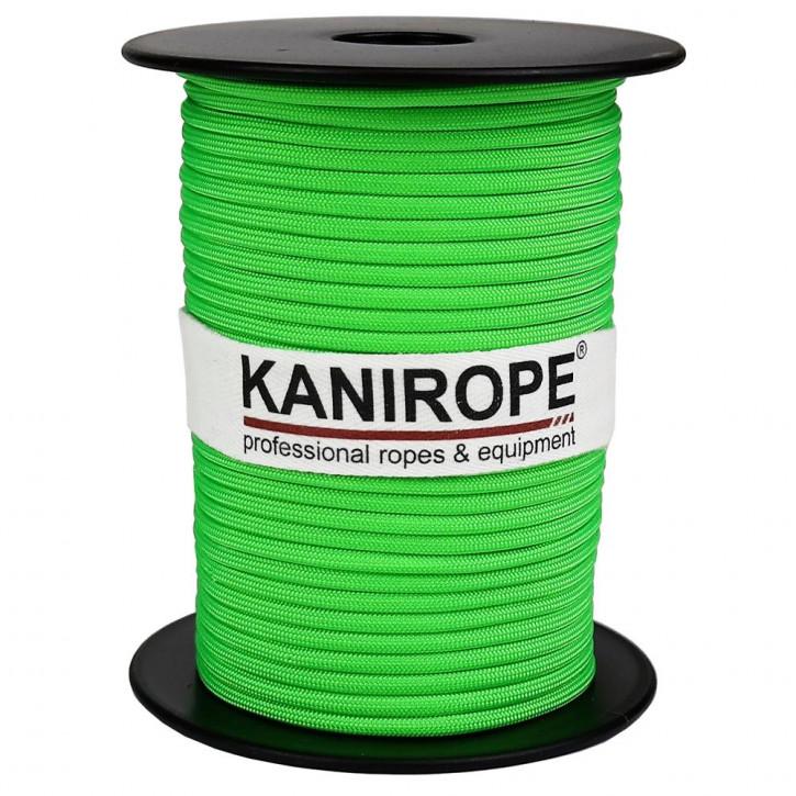 Paracord 550 XPRO ø3,8mm Neongrün geflochten von Kanirope®