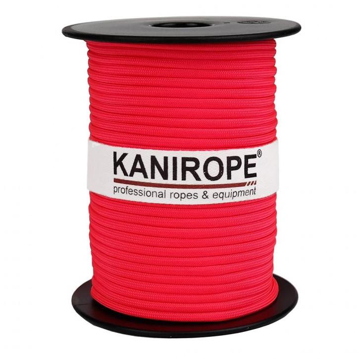 Paracord 550 XPRO ø3,8mm Neonpink geflochten von Kanirope®