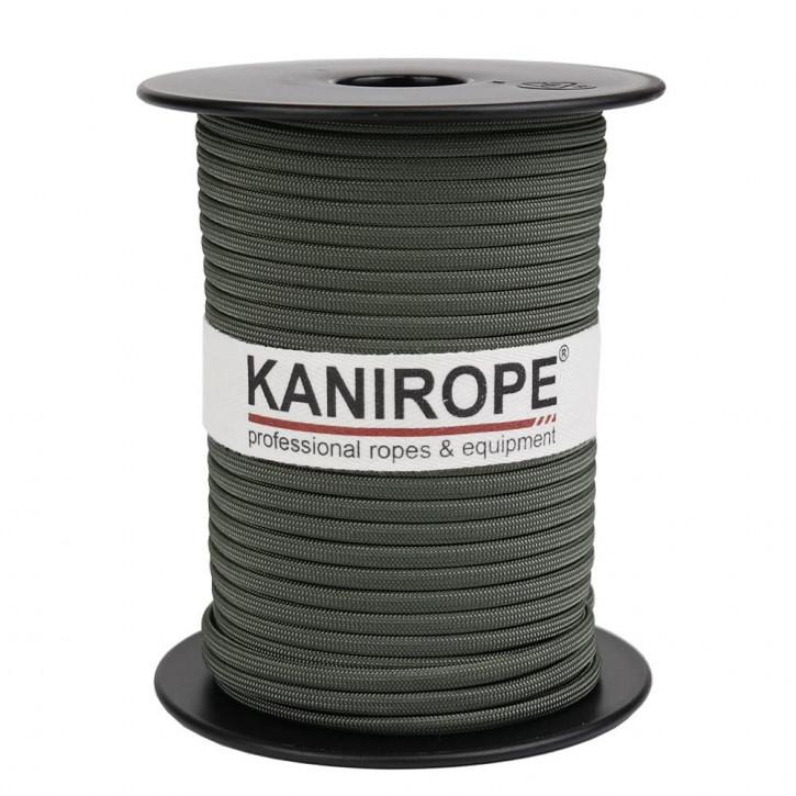 Paracord 550 XPRO ø3,8mm Oliv geflochten von Kanirope®
