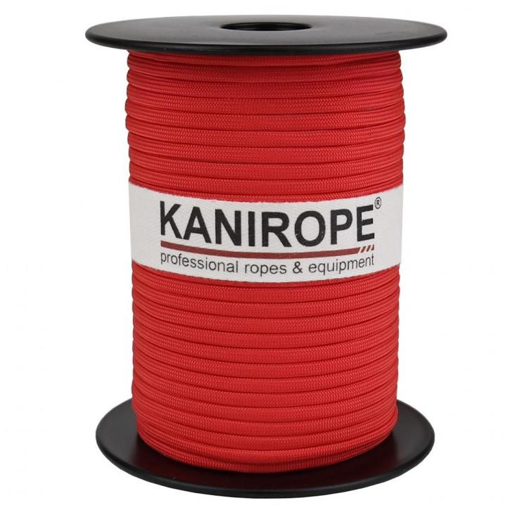 Paracord 550 XPRO ø3,8mm Rot geflochten von Kanirope®