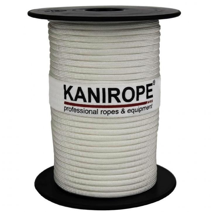 Paracord 550 XPRO ø3,8mm Weiß geflochten von Kanirope®