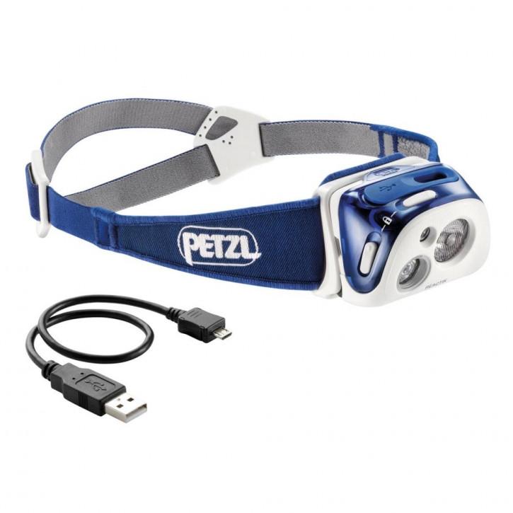 Stirnlampe REACTIK Blau von Petzl