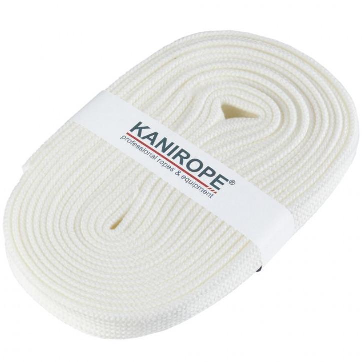 Flachkordel HOODIECORD Weiß 5m von Kanirope®