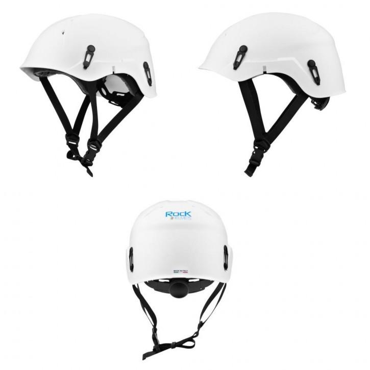 Helm VERTIK Farbe Weiß von Rock Helmets