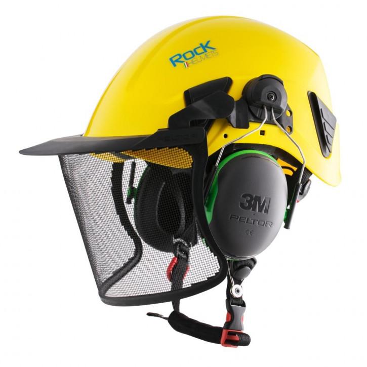 Visier PELTOR V4A STEEL MESH VISOR von Rock Helmets