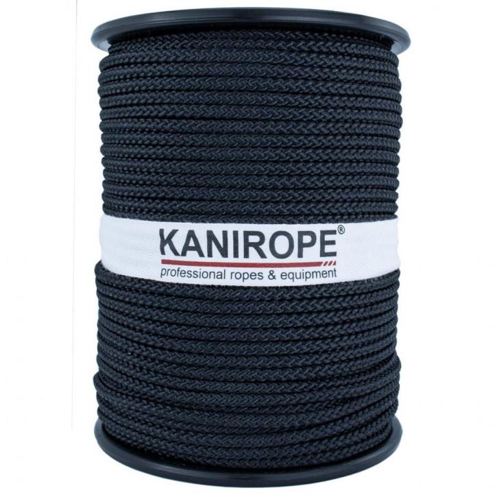 Kanirope® POLYBRAID BLACK Polyesterseil geflochten