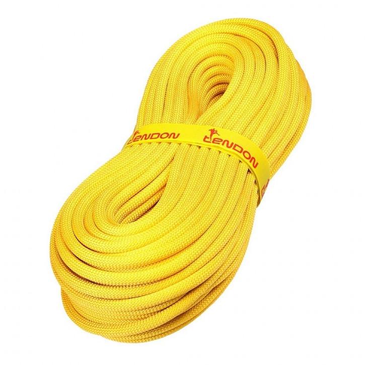 Kletterseil TRUST ø11,4mm Gelb von Tendon