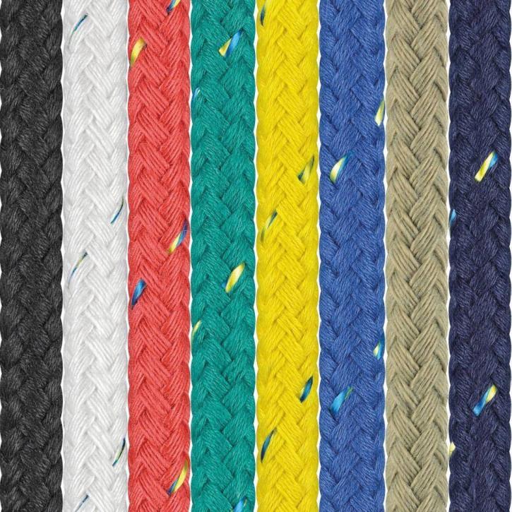 Polyesterseil SEASTAR ø14mm 24-fach geflochten von Liros