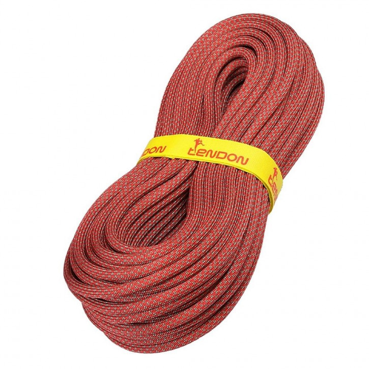 Kletterseil AMBITION ø10,0mm Rot von Tendon