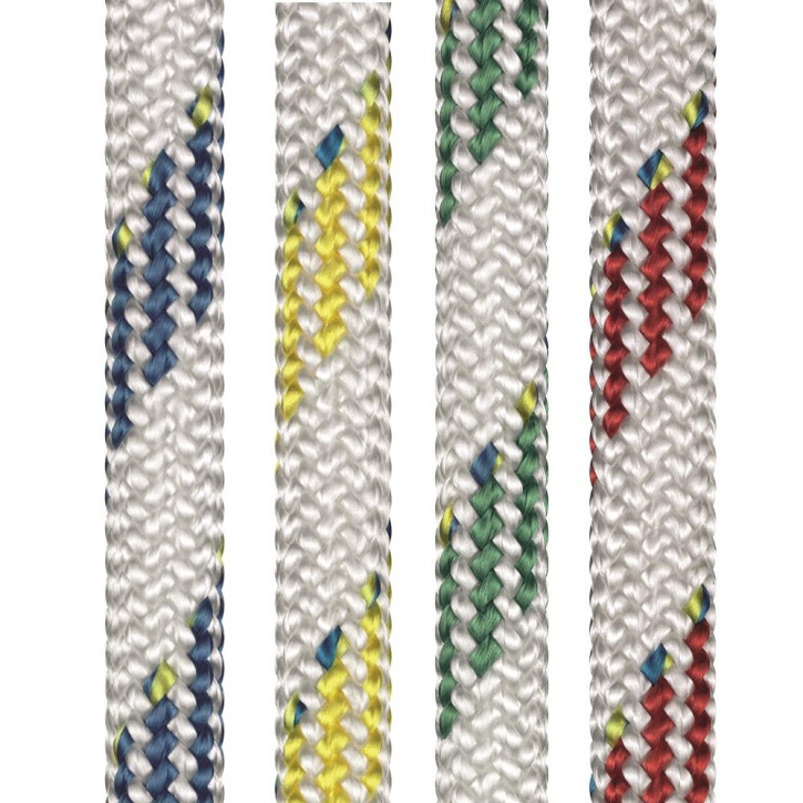 Dyneema Seil SK78 mit PES Mantel DYNAMIC PLUS ø5mm 16-fach geflochten von Liros