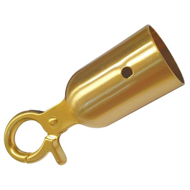 Seilendkappe mit Karabiner PRIME für ø28mm- ø30mm Absperrseile von Kanirope®