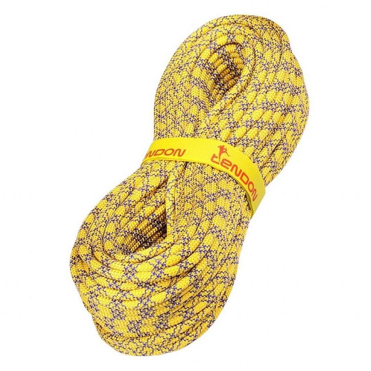 Kletterseil AMBITION ø8,5mm Gelb von Tendon