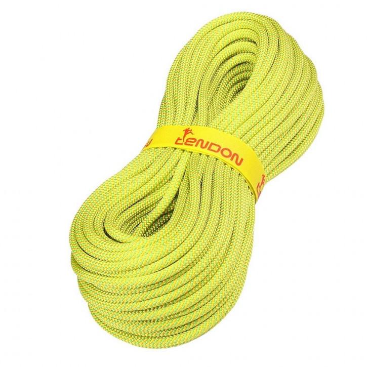 Kletterseil MASTER ø7,8mm Grün-Gelb von Tendon