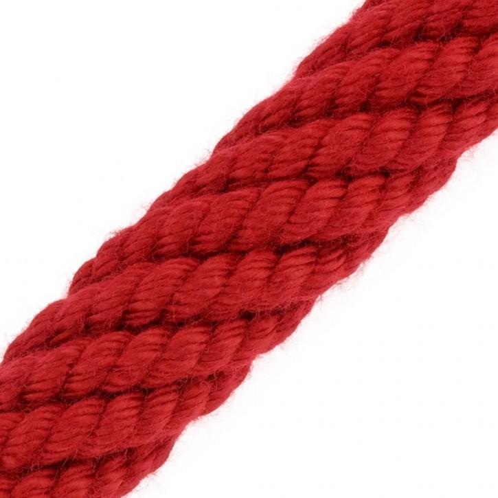 Handlaufseil ACRYL Rot von Kanirope®