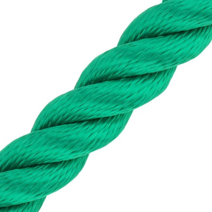 Handlaufseil MULTITWIST ø28mm Meterware (Lfm. am Stück) Grün von Kanirope®