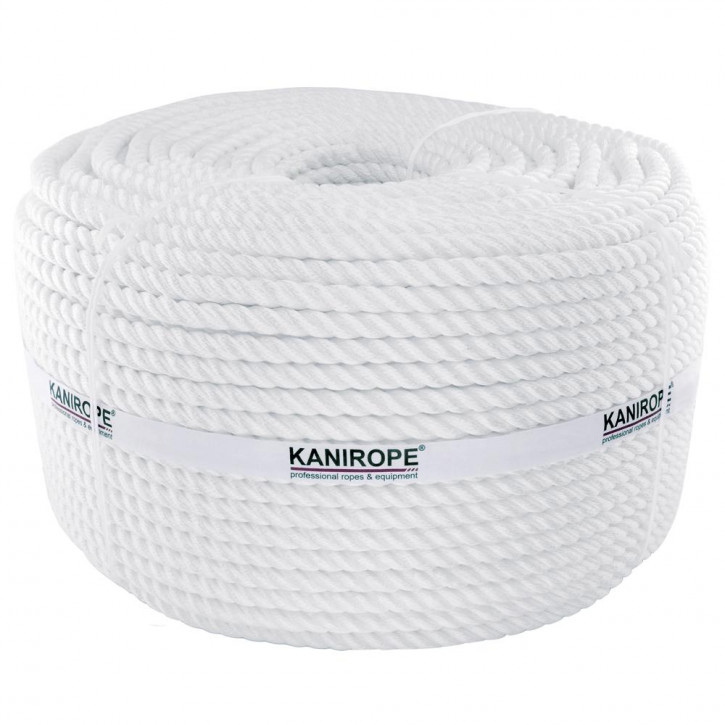 Polyamidseil PERLONTWIST ø8mm 3-litzig gedreht von Kanirope®