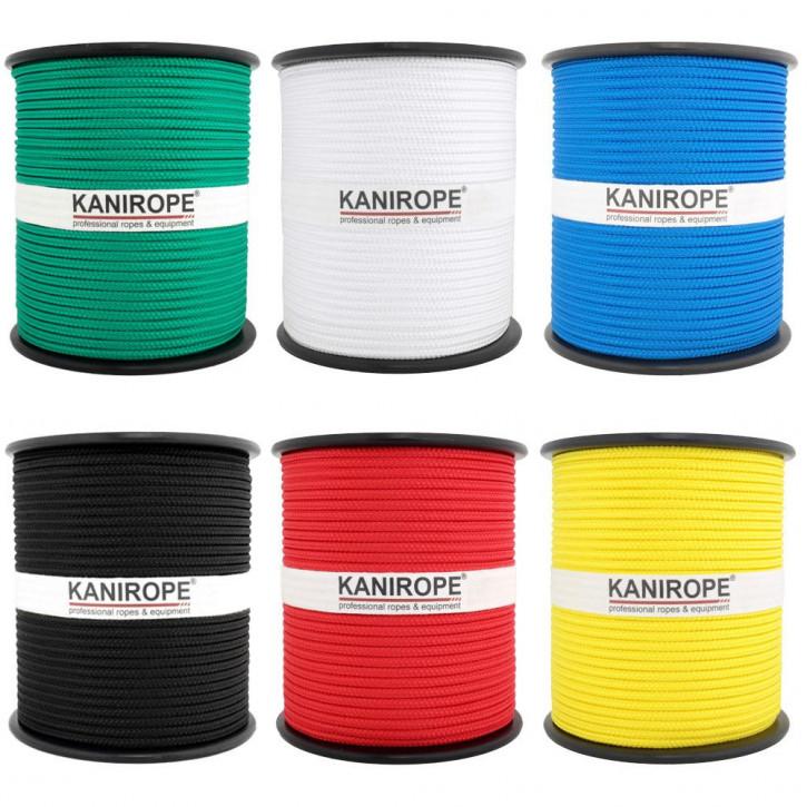 PP Seil MULTIBRAID von Kanirope ø3mm geflochten Standardfarben