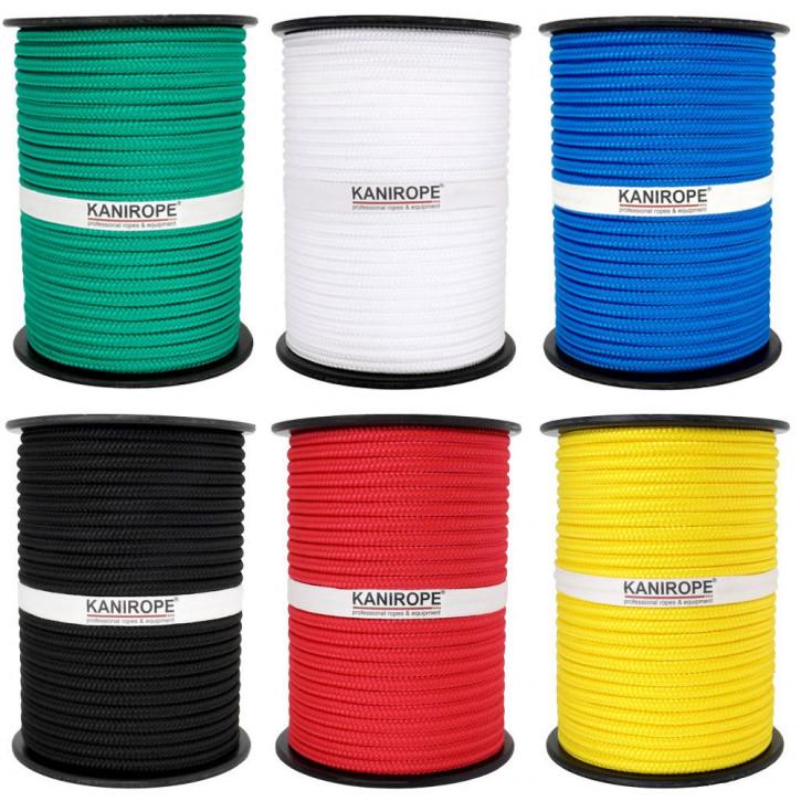 PP Seil MULTIBRAID von Kanirope ø6mm geflochten Standardfarben