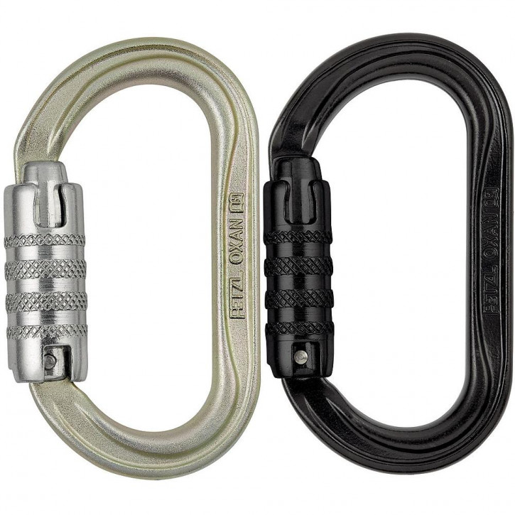 Karabiner OXAN TRIACT-LOCK Internationale Version von Petzl