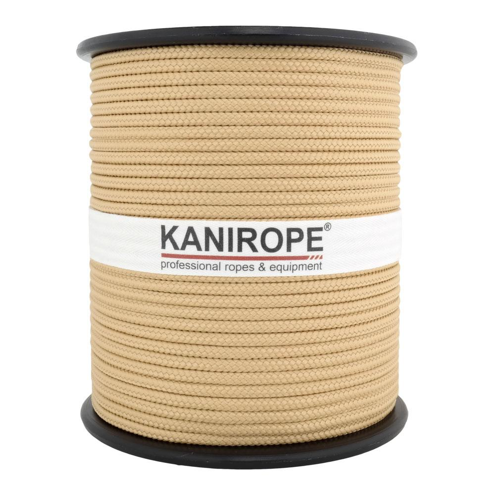 PP Seil Polypropylenseil SH 3mm 100m Farbe Hanffarbig Geflochten 0144