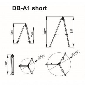 Dreibaum DB-A1 (K) kurze Version von IKAR