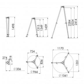 Dreibaum DB-A2 von IKAR