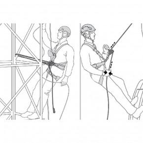 Halteseil mit Seilkürzer GRILLON von Petzl