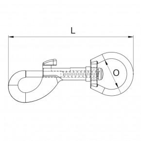Bolzenkarabiner PINHOOK von Kanirope®