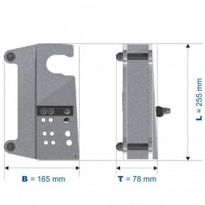 Schnellwechselhalterung für HRA Geräte von IKAR